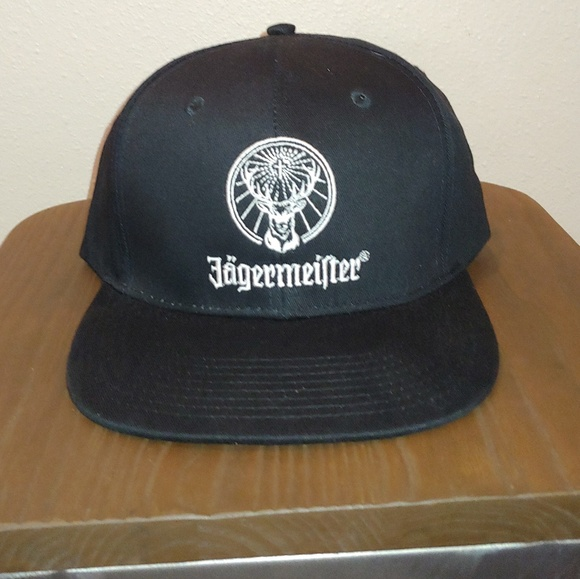 a7fd5f24c5c4d Black Jägermeister Promo Trucker Hat Snapback